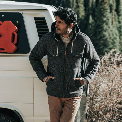 The Winslow Parka in Wool Beach Cloth - alternate view