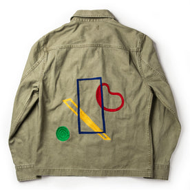 flatlay of The HBT Jacket by Sam Hart