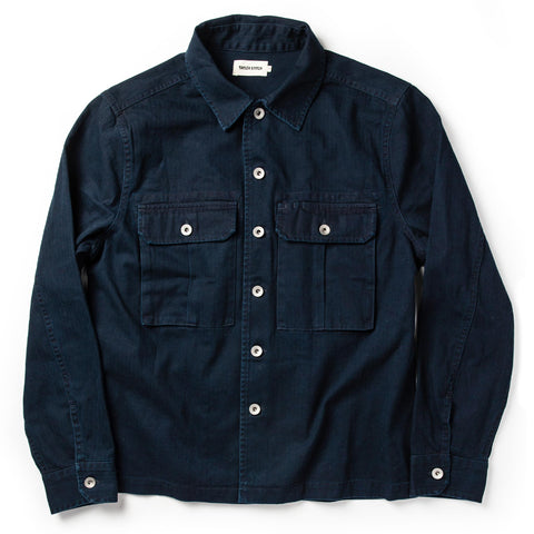 The HBT Jacket in Washed Navy - featured image