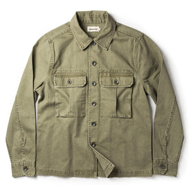 The HBT Jacket in Washed Olive - featured image
