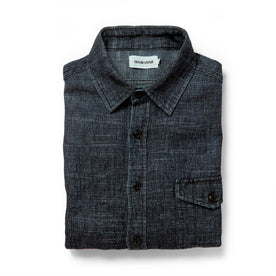 The Cash Shirt in Indigo Hemp: Featured Image