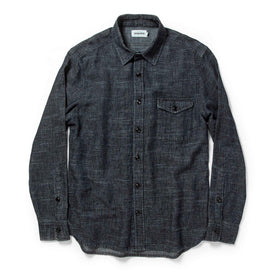 The Cash Shirt in Indigo Hemp: Alternate Image 8