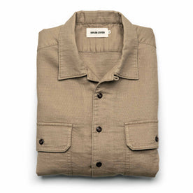 The Corso in Khaki Double Cloth - featured image
