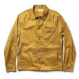 The Lombardi Jacket in Mustard Dry Wax - featured image