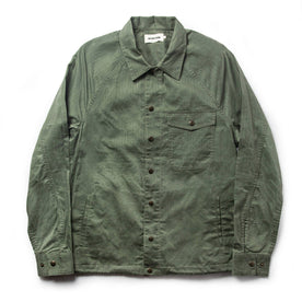 The Lombardi Jacket in Olive Dry Wax: Featured Image