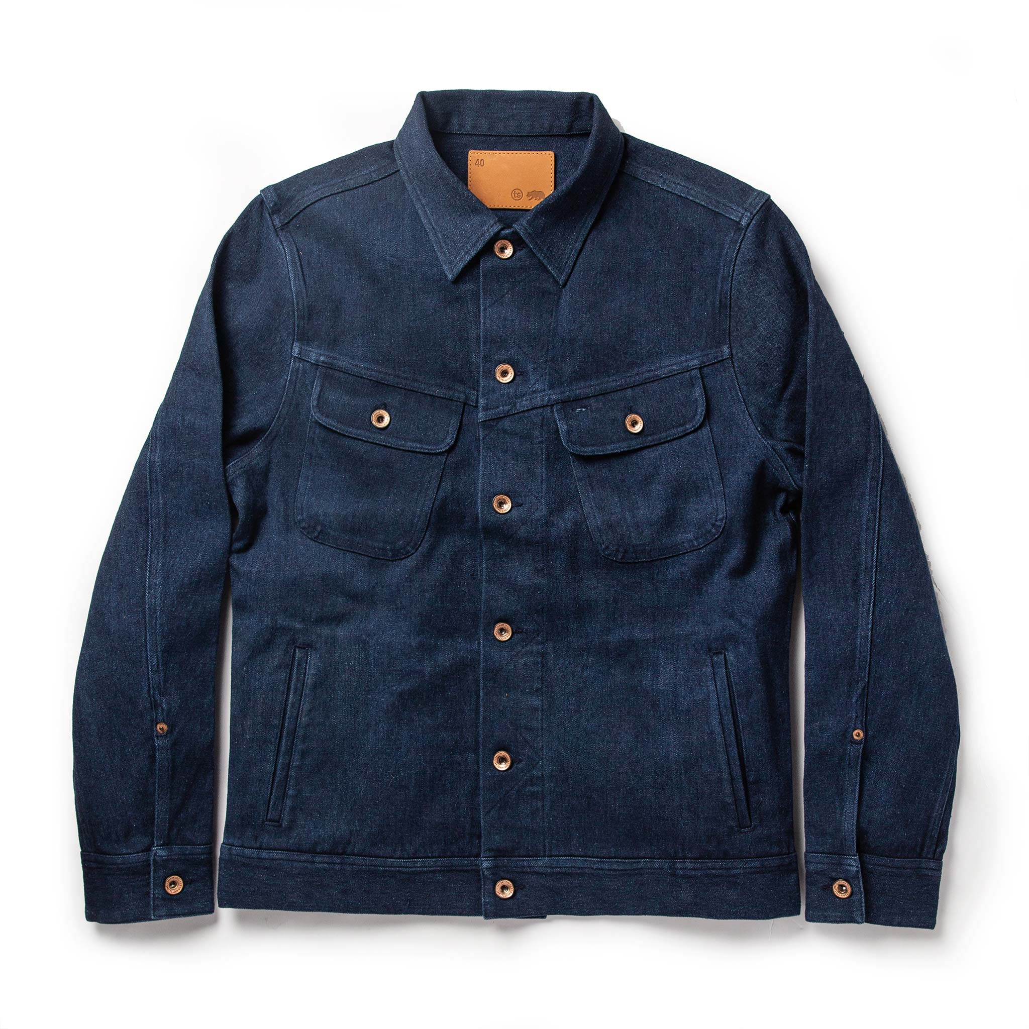 The Long Haul Jacket in Indigo Boss Duck | Taylor Stitch…