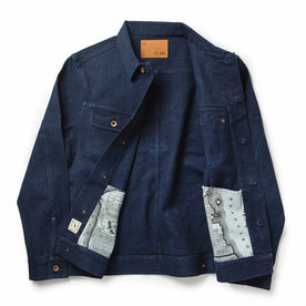 The Long Haul Jacket in Indigo Boss Duck: Alternate Image 11
