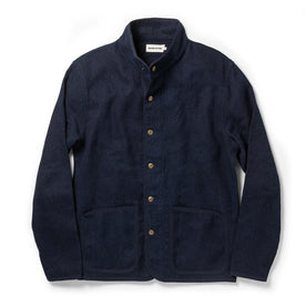 The Port Jacket in Indigo Sashiko: Featured Image