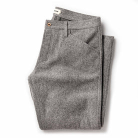 The Camp Pant in Heather Grey Wool: Featured Image