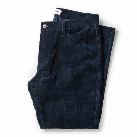 The Camp Pant in Indigo Corduroy - featured image