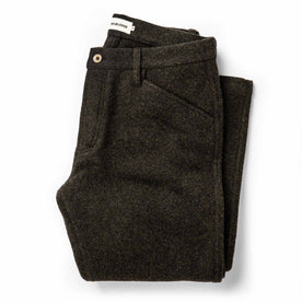 The Camp Pant in Dark Moss Wool - featured image