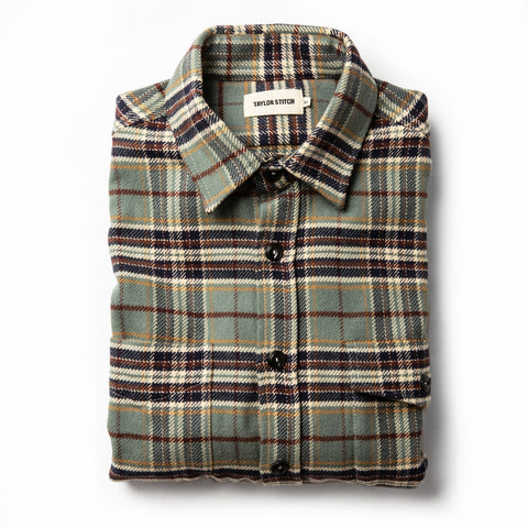 The Crater Shirt in Blue Plaid - featured image
