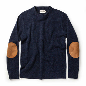 The Hardtack Sweater in Navy Donegal - featured image