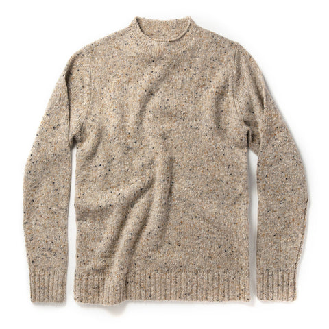 The Seafarer Sweater in Natural Donegal - featured image