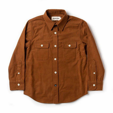 The Little Yosemite Shirt in Tobacco - featured image