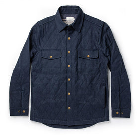 The Quilted Jacket in Indigo Boss Duck: Featured Image