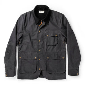 The Rover Jacket in Ripstop Slate Dry Wax: Featured Image