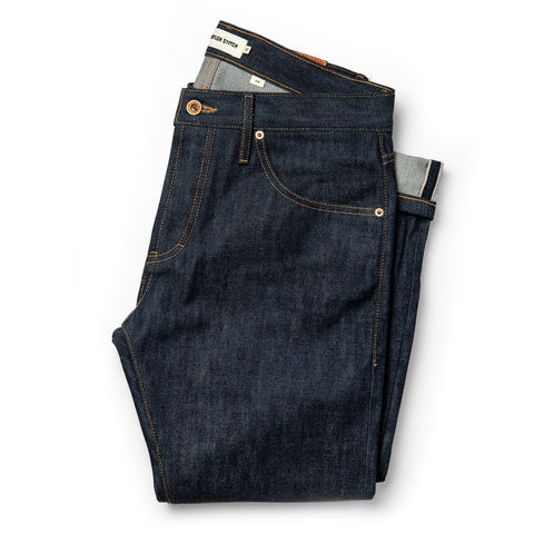 The Slim Jean in Cone Mills Reserve Selvage - featured image
