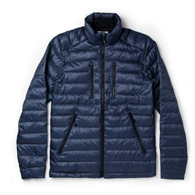 The Taylor Stitch x Mission Workshop Farallon Jacket in Midnight Blue - featured image