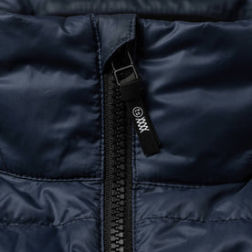 material shot of zipper