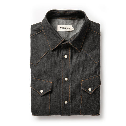The Western Shirt in Nihon Menpu Reserve Selvage - featured image