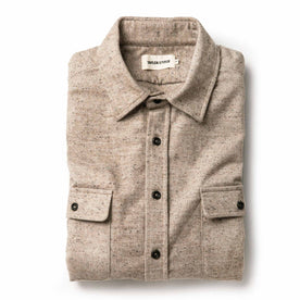 The Yosemite Shirt in Oat Donegal: Featured Image