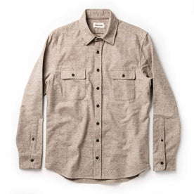 The Yosemite Shirt in Oat Donegal: Alternate Image 9