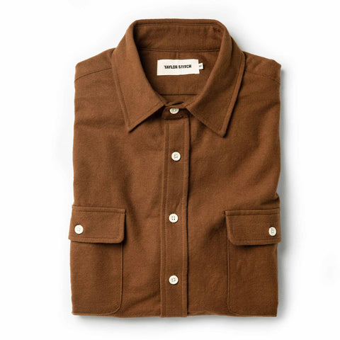 The Yosemite Shirt in Tobacco - featured image