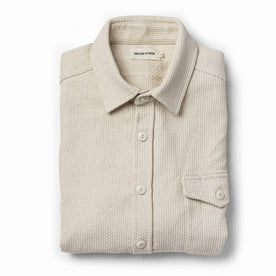 The Cash Shirt in Natural Sashiko - featured image