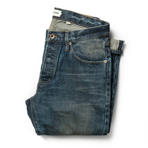The Democratic Jean in Organic Selvage 12-month Wash - featured image