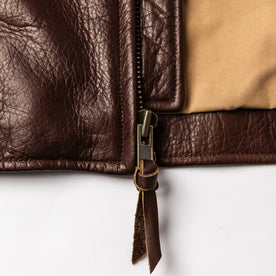 material shot of zipper detail