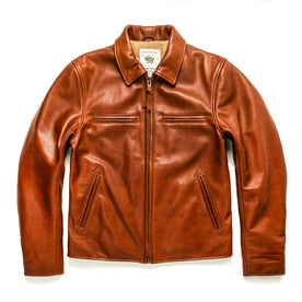 The Moto Jacket in Whiskey Steerhide: Featured Image