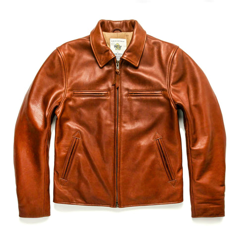 The Moto Jacket in Whiskey Steerhide - featured image