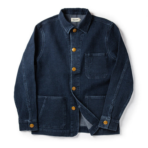 The Ojai Jacket in Indigo Diamond Plate - featured image
