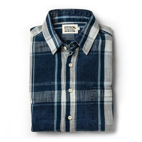The California in Indigo Plaid - featured image