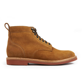 The Trench Boot in Butterscotch Weatherproof Suede - featured image