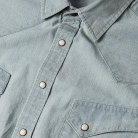 The Western Shirt in Washed Selvage Chambray: Alternate Image 6