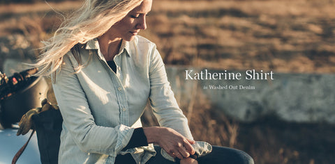 The Katherine in Washed Out Denim