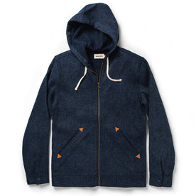 The Après Hoodie in Indigo Waffle: Featured Image