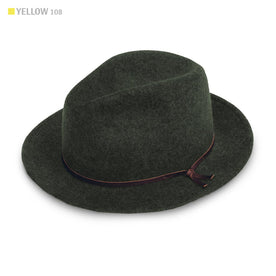 The Luke Fedora in Olive: Featured Image