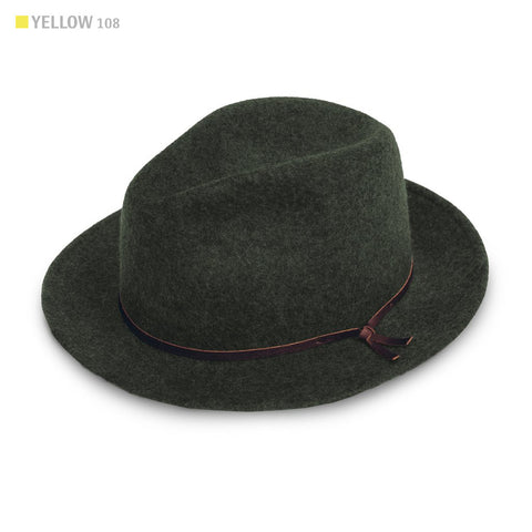 The Luke Fedora in Olive - featured image