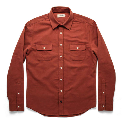 The Yosemite Shirt in Dusty Red: Alternate Image 7