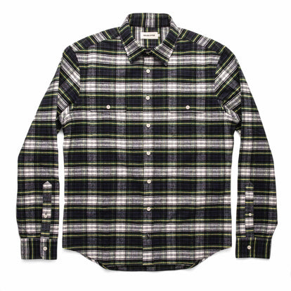 The Yosemite Shirt in Blue Tartan: Alternate Image 7