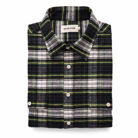 The Yosemite Shirt in Blue Tartan: Featured Image