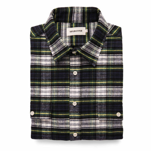 The Yosemite Shirt in Blue Tartan - featured image