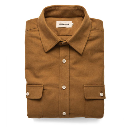 The Yosemite Shirt in British Khaki: Featured Image
