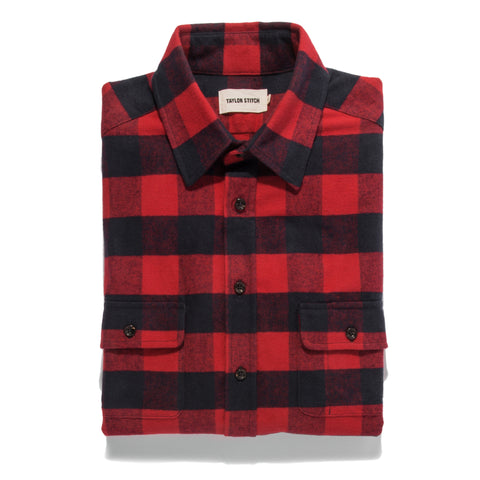 The Yosemite Shirt in Red Buffalo Plaid - featured image
