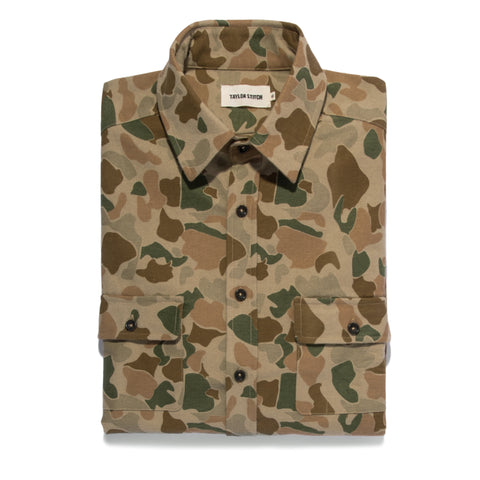 The Yosemite Shirt in Camo - featured image