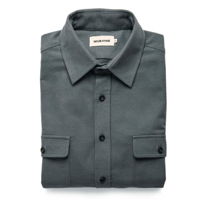 The Yosemite Shirt in Slate: Featured Image