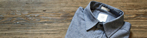 Grey Canvas Outerwear